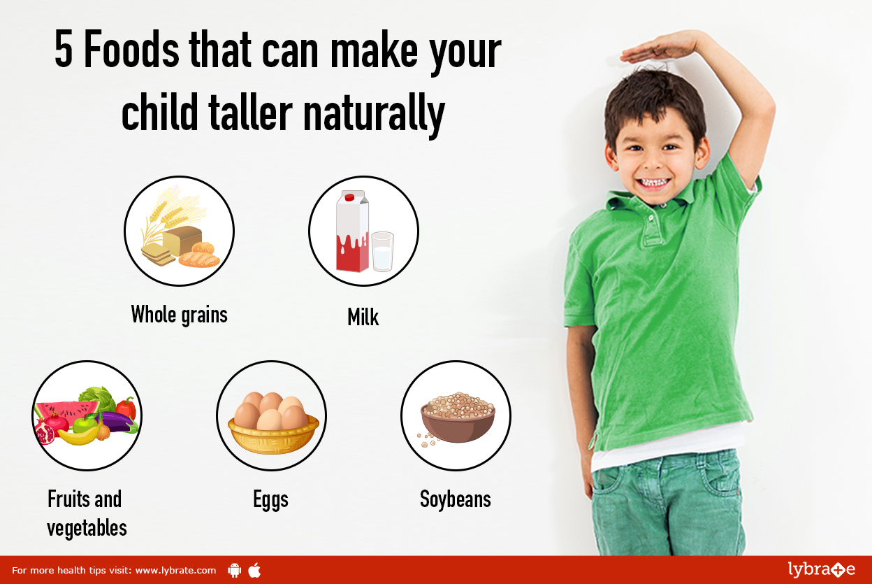 5 Foods that can make your child taller naturally